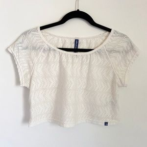 """Urban Oufitters """"Without Walls"""" Mesh Crop Top"""